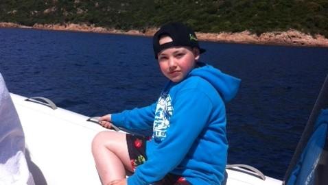 Juliani en bateau en Corse