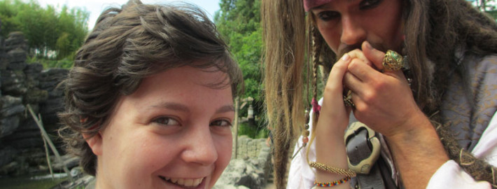 Elodie et Jack Sparrow 2