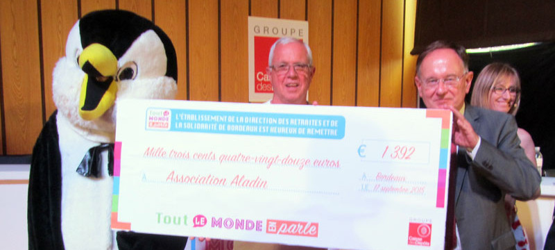 Remise cheque CDC